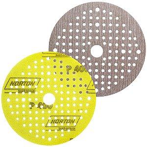 Caixa com 20 Disco de Lixa Pluma Multiair Soft-TouchA275 Grão 400 125 x 18 mm