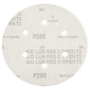 Disco de Lixa Pluma Speed-Grip A290 com 6 Furos Grão 280 152 x 0 x 6 mm Caixa com 100