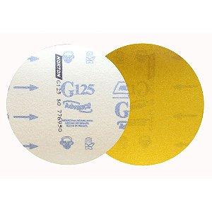 Caixa com 50 Discos de Lixa Pluma Speed-Grip Adalox Papel G125 Grão 80 152 mm
