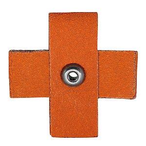 Pacote com 20 Disco de Lixa Quadrado R920 Grão 120 50,8 x 50,8 x 19 mm