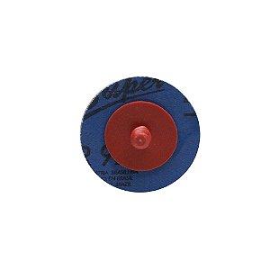 Caixa com 60 Discos de Lixa Speed Lok Troca Rápida R921 Grão 100 51 mm