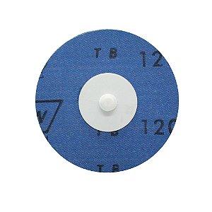 Caixa com 30 Disco de Lixa Speed Lok Troca Rápida R921 Grão 120 76 mm