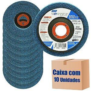 Caixa com 10 Disco de Preparação Vortex Rapid Blend 115 x 22 mm