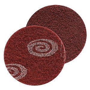 Disco SCM Vortex Médio Vermelho 115 x 22 mm Caixa com 30