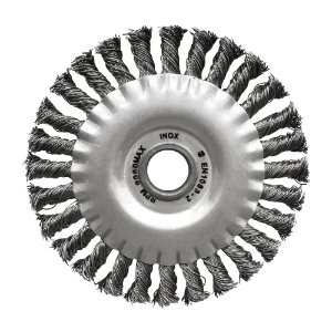 Caixa com 50 Escovas Circular Trançada Inox 152,4 x 12,7 mm