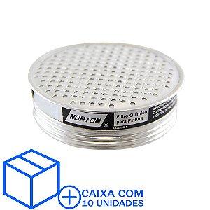 Caixa com 10 Filtro Químico para Respirador ou Máscara Semifacial