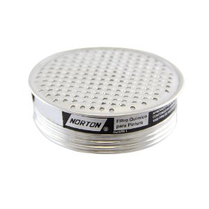 Filtro Químico para Respirador ou Máscara Semifacial Caixa com 10