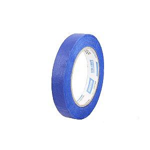 Fita Crepe Uso Geral Premium Azul 18 x 50 m Caixa com 48