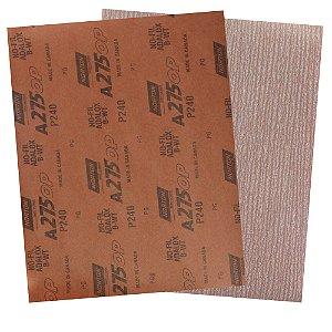 Folha de Lixa A275 Grão 240 230 x 280 mm Pacote com 200