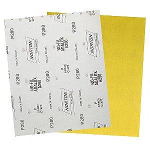 Pacote com 200 Folha de Lixa A290 Grão 280 230 x 280 mm
