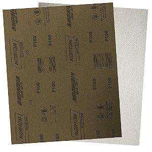 Pacote com 200 Folha de Lixa A319 Amphibia Grão 100 230 x 280 mm