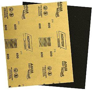 Pacote com 500 Folha de Lixa Advance T223 Grão 600 225 x 275 mm