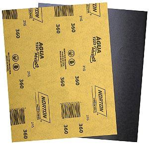 Pacote com 500 Folha de Lixa D'Água Adalox Advance T223 Grão 360 225 x 275 mm