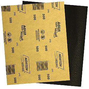 Folha de Lixa D'Água Adalox Advance T223 Grão 500 225 x 275 mm Pacote com 500