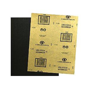 Folha de Lixa D'água CAR15 Grão 500 225 x 275 mm Pacote com 500