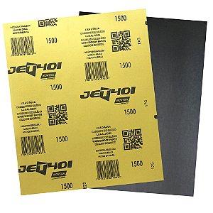 Pacote com 200 Folha de Lixa D'Água Jet T401 Grão 1500 230 x 280 mm