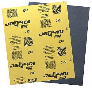 Folha de Lixa D'Água Jet T401 Grão 2500 230 x 280 mm Pacote com 200