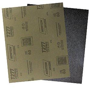 Pacote com 200 Folha de Lixa D'Água NorClass T277 Grão 60 230 x 280 mm