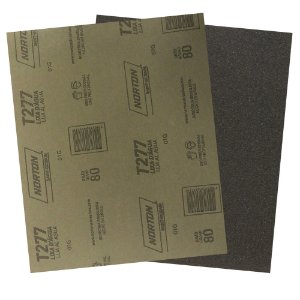 Folha de Lixa D'Água NorClass T277 Grão 80 230 x 280 mm Pacote com 200