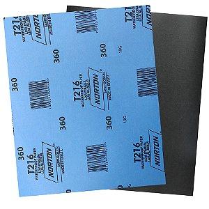 Folha de Lixa D'Água Norflex T216 Grão 360 230 x 280 mm Pacote com 200