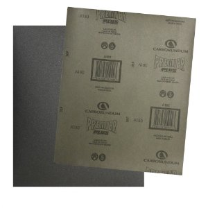 Pacote com 200 Folha de Lixa D'água Premier Plus Grão 180 230 x 280 mm