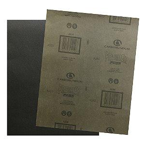 Folha de Lixa D'água Premier Plus Grão 280 230 x 280 mm Pacote com 200