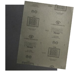 Folha de Lixa D'água Premier Plus Grão 500 230 x 280 mm Pacote com 200