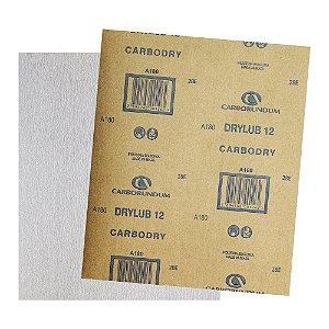 Folha de Lixa DryLub CAR12 Grão 180 225 x 275 mm Pacote com 500