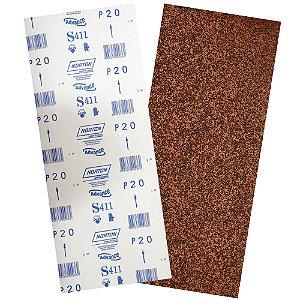Folha de Lixa Durite Assoalho S411 Grão 16 305 x 750 mm Pacote com 40