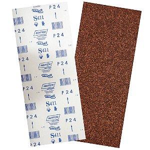 Pacote com 40 Folha de Lixa Durite Assoalho S411 Grão 24 305 x 750 mm