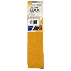 Caixa com 10 Kit Cinta de Lixa Estreita K121 Adalox Pano Grão 120 610 x 75 mm