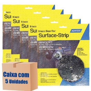 Caixa com 5 Kit Disco de Remoção Surface-Strip com Haste
