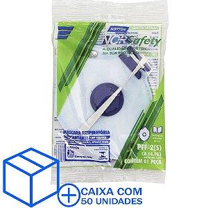 Caixa com 50 Máscara Descartável Norsafety Pro PFF2 C/Válvula