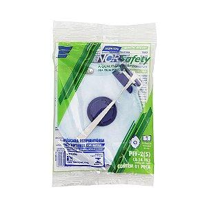 Caixa com 5 Máscara Descartável Norsafety Pro PFF2 C/Válvula