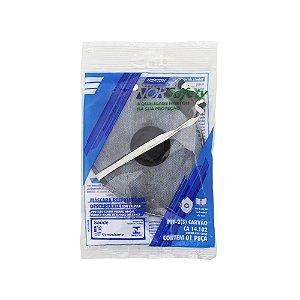 Máscara Descartável Norsafety Pro PFF2 Carvão Ativo C/Válvula Caixa com 50