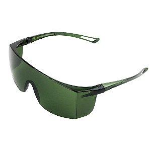 Caixa com 20 Óculos de Segurança Norsafety - Verde