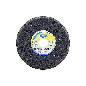 Caixa com 5 Rebolo Afiação de Serras Óxido de Alumínio Cinza Chanfrado 203,20 x 12,70 x 31,75 mm A60O5VC1