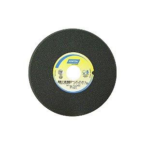 Rebolo Afiação de Serras Óxido de Alumínio Cinza Chanfrado 203,20 x 6,40 x 31,75 mm A80OVC1 Caixa com 5