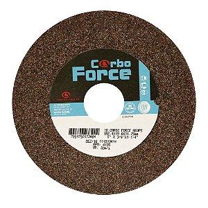 Caixa com 10 Rebolo Carbo Force Afiação e Rebarbação Aços e Materiais Ferrosos Reto 152,4 x 19 x 31,75 mm A60P5V50W