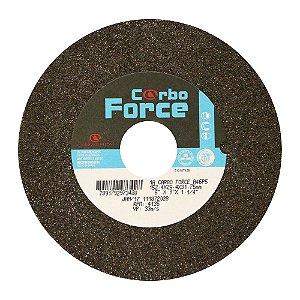 Caixa com 10 Rebolo  Carbo Force Afiação e Rebarbação Aços e Materiais Ferrosos Reto 152,4 x 25,4 x 31,75 mm A46P5V50W
