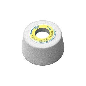 Caixa com 4 Rebolo Afiação e Retíficação Óxido de Alumínio Branco Copo Cônico 101,6 x 50,8 x 31,75 mm ACC FE 38A100KVS