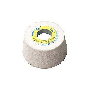 Caixa com 4 Rebolo Afiação e Retíficação Óxido de Alumínio Branco Copo Cônico 101,6 x 50,8 x 31,75 mm ACC FE 38A60K