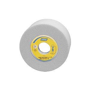 Caixa com 4 Rebolo Afiação e Retíficação Óxido de Alumínio Branco Copo Reto 127 x 63,5 x 31,75 mm ACR FE 38A46K