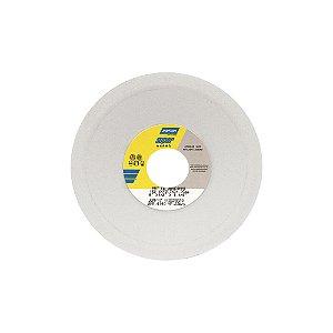 Caixa com 3 Rebolo Afiação e Retíficação Óxido de Alumínio Branco Prato 152,40 x 12,70 x 31,75 mm FE 38A60KVS