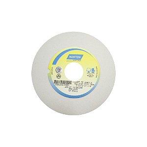Caixa com 3 Rebolo Afiação e Retíficação Óxido de Alumínio Branco Reto 152,40 x 12,70 x 31,75 mm FE 38A80KVS