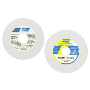 Caixa com 3 Rebolo Afiação e Retíficação Óxido de Alumínio Branco Reto 152,40 x 6,40 x 31,75 mm FE 38A60KVS