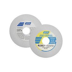 Rebolo Afiação e Retíficação Óxido de Alumínio Branco Reto 152,4 x 19,0 x 31,75 mm ART FE 38A100K Caixa com 3