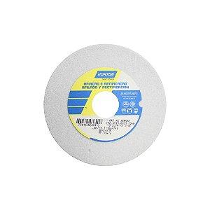 Caixa com 3 Rebolo Afiação e Retíficação Óxido de Alumínio Branco Reto 152,4 x 19,0 x 31,75 mm ART FE 38A46K