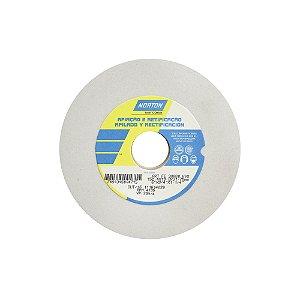 Caixa com 3 Rebolo Afiação e Retíficação Óxido de Alumínio Branco Reto 152,4 x 19,0 x 31,75 mm ART FE 38A80K