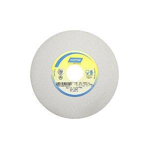 Rebolo Afiação e Retíficação Óxido de Alumínio Branco Reto 177,80 x 12,70 x 31,75 mm FE 38A60KVS Caixa com 3